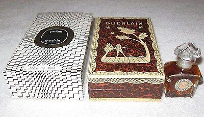 Vintage Guerlain Mitsouko Perfume Bottle & Boxes 1/2 OZ 15 ML Sealed/Full - 1967
