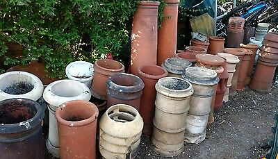 Vintage Chimney pots garden feature, garden planter