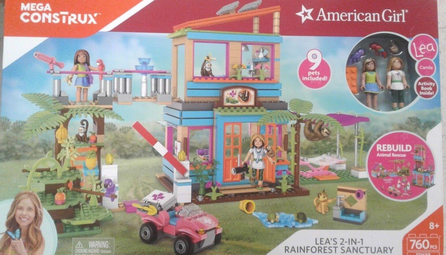 Mega Construx American Girl Lea's 2-In-1 Rainforest