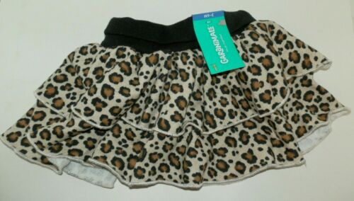New Baby Girls 24 Months Leopard Print Tier Skort Skirt Garanimals Cheetah