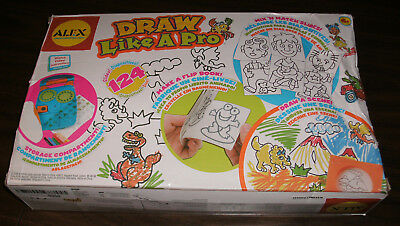 ALEX Toys Young Artist Studio Draw Like A Pro Brand New in Damaged Box