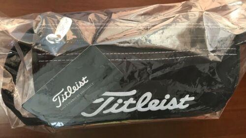 Titleist PCH9 Golf Ball Accessories Pouch Carry Bag Case Black