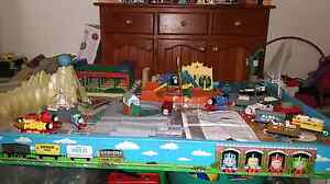 Thomas the tank engine train set, table and storage box Glenelg East Holdfast Bay Preview