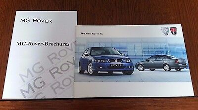 Rover 45 2004 Full Brochure Classic Club SE Connoisseur 1.4 1.6 1.8 2.0 6194 NEW