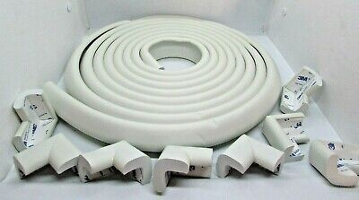 Baby Proofing Edge Corner Guard Protector Set Safety Furniture Bumpers White