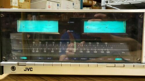 JVC JR-S600 Stereo Receiver and S.E.A. Graphic Equalizer