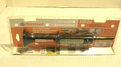 Ramset Powder Actuated Tool Hd22 New Nos