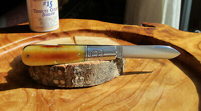 Great Eastern Cutlery 152121 TC Barlow Smooth Autumn Gold Bone Tidioute Folder