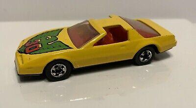 LOOSE HOT WHEELS '80s Pontiac Firebird 1982 #30 *Yellow* Blackwall 1/64