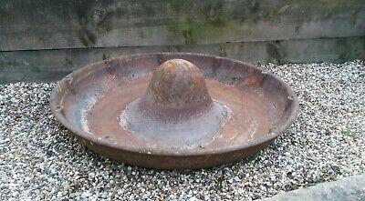 Large Mexican Hat Cast Iron Pig Trough/Planter