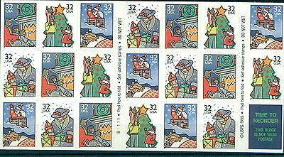 NATALE - CHRISTMAS U.S.A. 1996 III Issue sheetlet