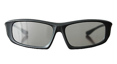 3 x Pairs Adults Black High quality Passive 3D Glasses Universal for TV Cinemas