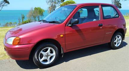 Economical 1.3lt! 6 Mths Reg RWC Toyota Starlet Hatchback Icy Air