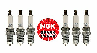 For Audi A6 A8 Quattro S6 S8 Q7 07-12 Set of 6 Spark Plugs NGK OEM PFR 6 W TG