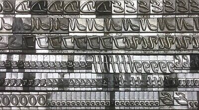 Beacon Hill 12 Point Letterpress Type Caps Lower Case Punctuation Printi Got