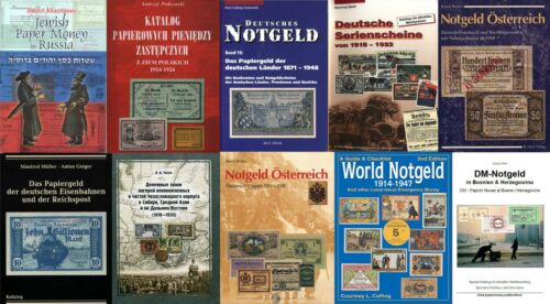 Deutsches Austria Notgeld German Tokens in P.DF -price for 12