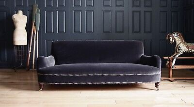 George Smith Large Jules Sofa to be Reupholstered in Velvet rrp £9,384