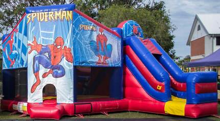 Spiderman Jumping castle full day hire $250 Burpengary Caboolture Area Preview
