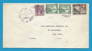 BERMUDA-PAQUEBOT-SHIP-COVER-S-S-MONARCH-OF-BERMUDA