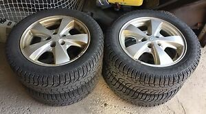 (4) PIRELLI WINTER TIRES