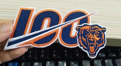 Chicago Bears 2019 100th ANNIVERSARY SEASON NFL PATCH IRON ON