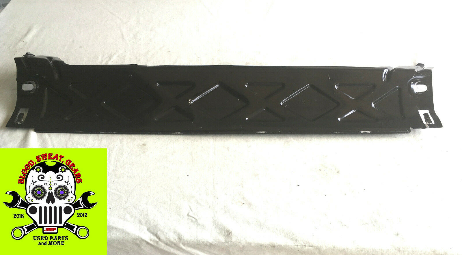 2018 - 2020 JL JEEP WRANGLER Brush Guard Lower Front Bumper Plate Skid 68360862A