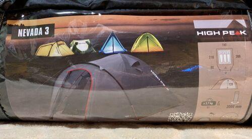 HIGH PEAK Iglu Zelt Nevada 3-Personen Camping Kuppelzel Trekkingzelt NEU