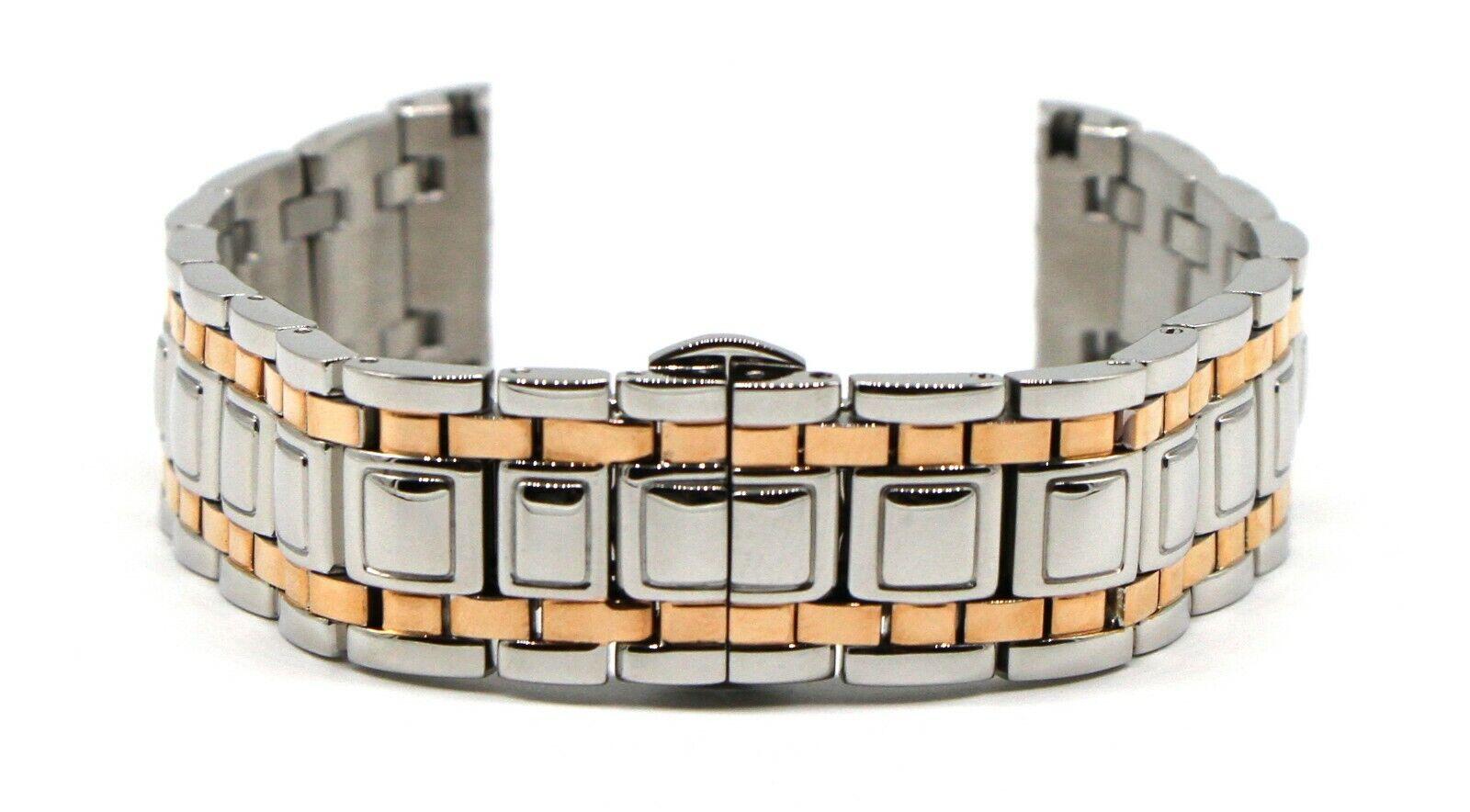 Swiss Legend 20mm Metall Uhrenarmband Edelstahl Rośe vergoldet Colosso