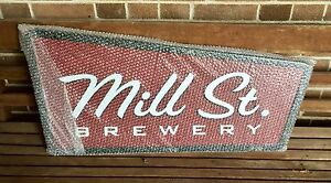 Mill Street Brewery Beer Sign Advertising New Mint Large