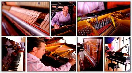 PIANO TUNER  Includes Servicing/repair. Tuning & service combined