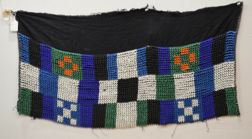 African Zulu Old Beaded Shawl