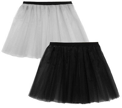 LADIES & GIRL UV FLO HEN HALLOWEEN GOTHIC ROCK N ROLL NEON TUTU SKIRT ADULT SIZE - Flo Halloween Costume