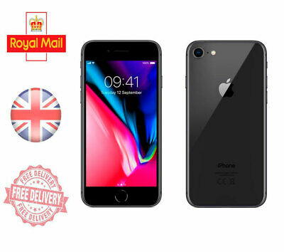Apple Iphone 8 Unlocked Sim Free Mobile Phone 4G 64GB 128GB 256 GB