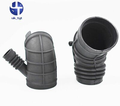 2Pcs Throttle Housing Air Intake Hose Pipe FOR BMW 3 Series E46 330i 330ci 330xi