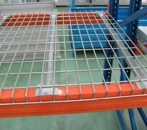 1270x850x38mm 500kg Steel Wire Decking Mesh Shelve Pallet Racking