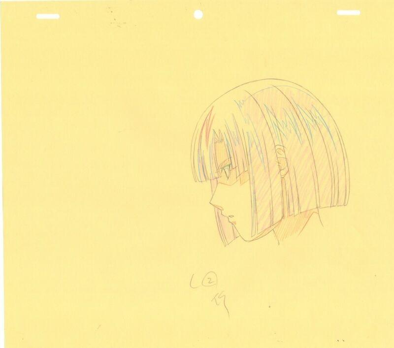 Anime Genga not Cel Hikaru no Go 2 pages #6