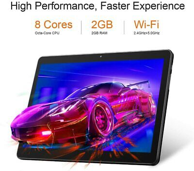 """Dragon Touch Max10 10.1"""" Android 9.0 HD Tablet 32GB WiFi GPS Dual Speaker Tablet"""