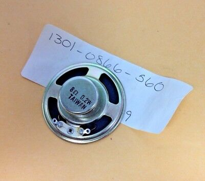2 Round Replacement Speaker Relm Part 1301-0866-560 New Old Stock