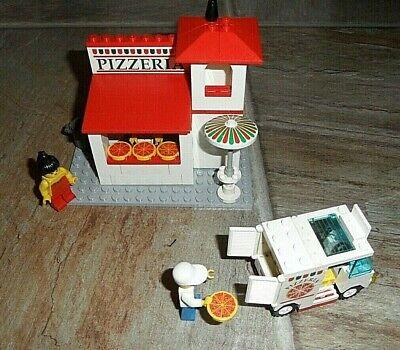 Vintage Lego Classic Town Pizzeria Pizza To Go set 6350 COMPLETE ~ ADORABLE !!!