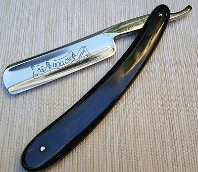 "Straight razor by Windrose ""Full Hollow Ground"" 6/8th Shave ready!!"