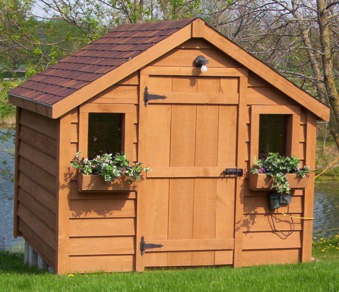 Sheds Garden Sheds Solid Wood European Style