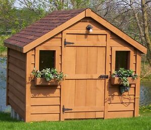 Sheds, Garden Sheds - Solid Wood - European Style