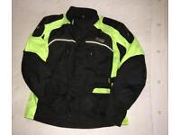 Night vision biker jacket