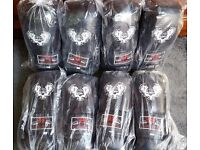 Furiousfistsuk Boxing Training Wings Gloves 14oz Black Color
