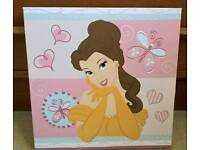 Disney Belle Beauty and the beast canvas art picture