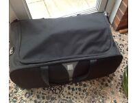 Hold-all style large suitcase In black - Tripp used once