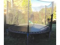 10ft Trampoline with safety net and ladder