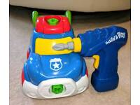 Build and play childs car toy