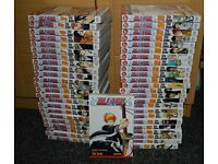 Bleach manga by Tite Kubo volumes 1-66