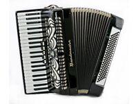 Bandmaster Piano Accordion - 41 Keys / 120 Bass - 3 Voice - Lightweight Full Size